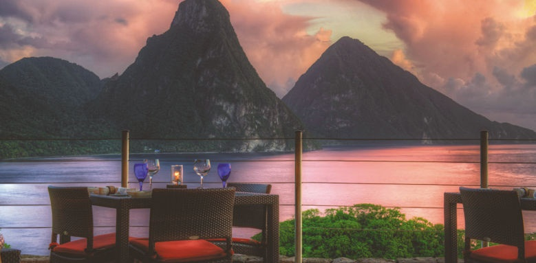jade mountain, restaurant
