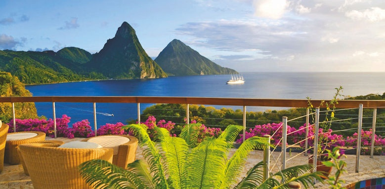 jade mountain, views