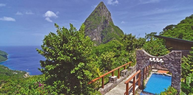 Ladera resort,  resort view