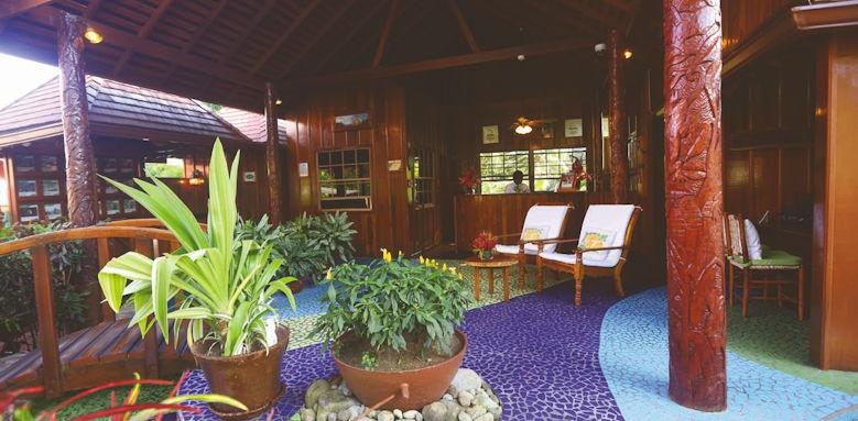 Ladera resort,  lobby
