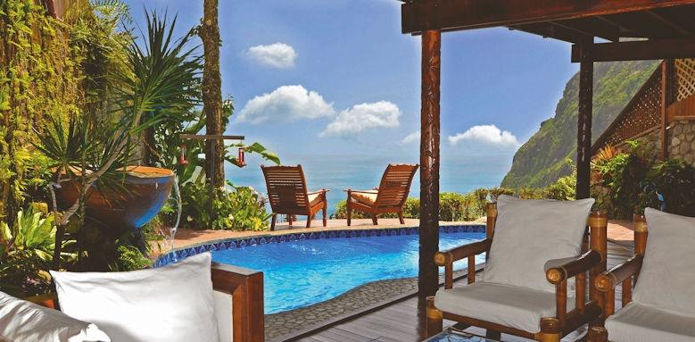 Ladera resort,  2 bed villa pool