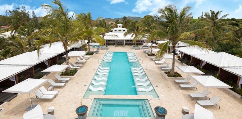 St Lucia, coconut beach, serenity pool