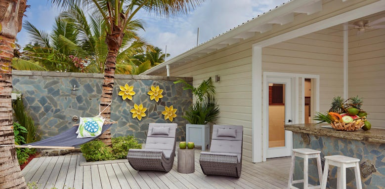 Serenity at Coconut Bay, patio
