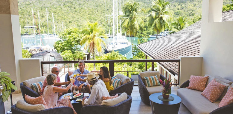 marigot bay resort & marina, lounge