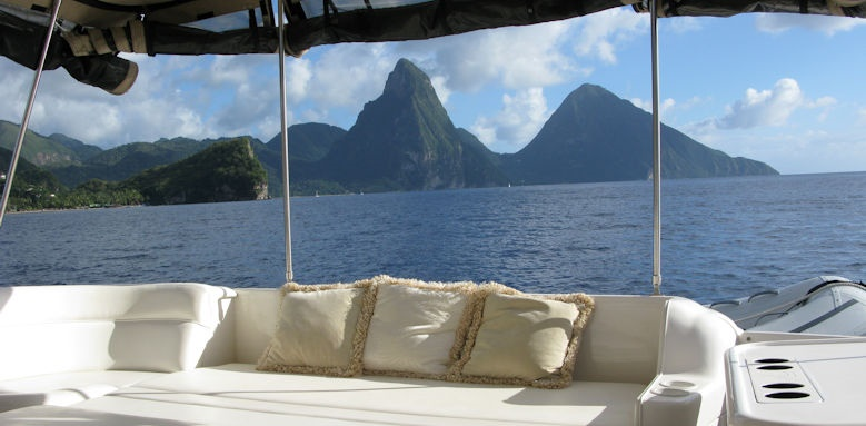 cap maison luxury resort & spa, pitons boat tour