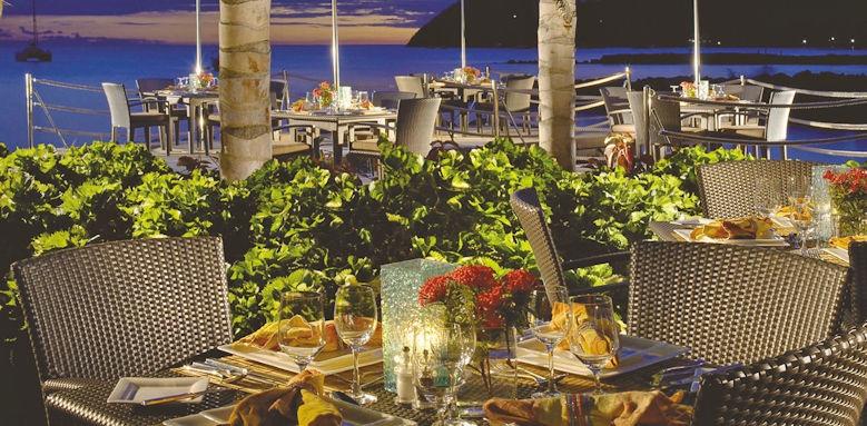 the landings resort & spa, restaurant