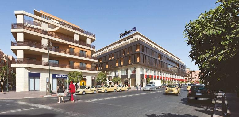 Radisson Blu Hotel Marrakech, exterior