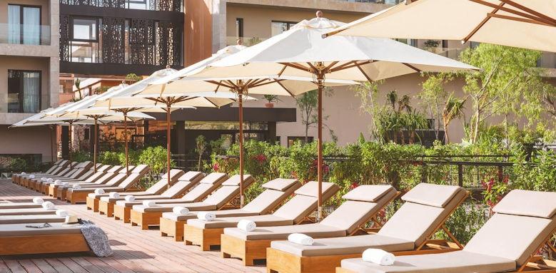 Radisson Blu Hotel Marrakech, pool deck
