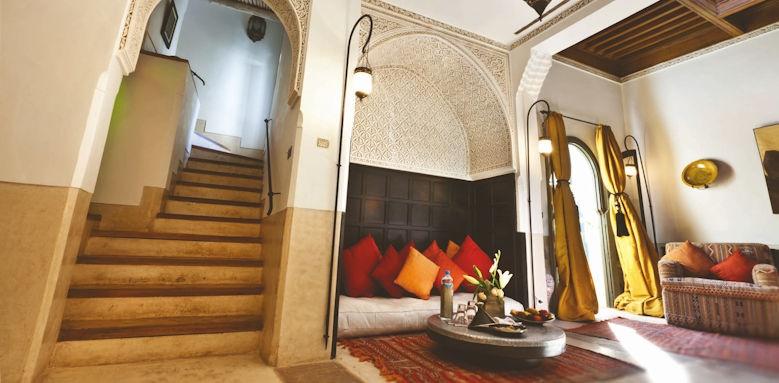 Riad Farnatchi, interior