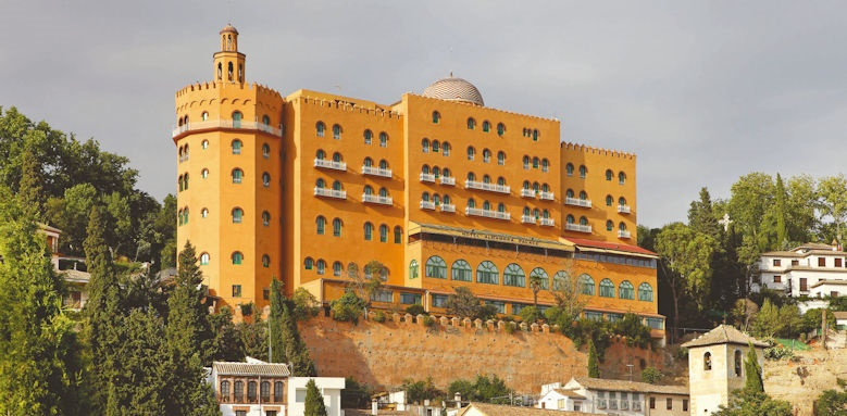 Alhambra Palace, exterior