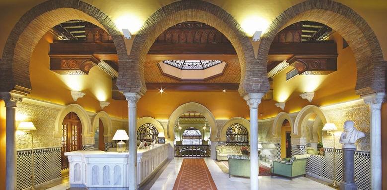 Alhambra Palace, reception