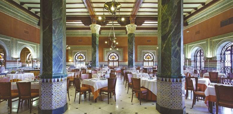 Alhambra Palace, restaurant