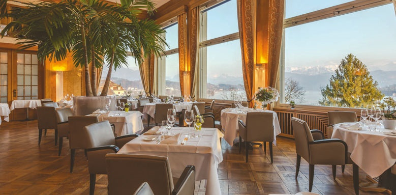 Art Deco Hotel Montana, restaurant