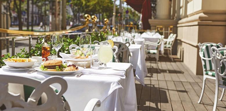 Grand Hotel Wien, terrace
