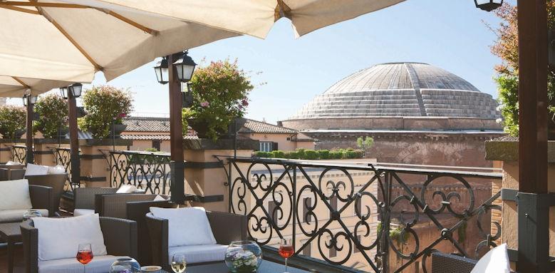 Grand Hotel de la Minerve, roof garden