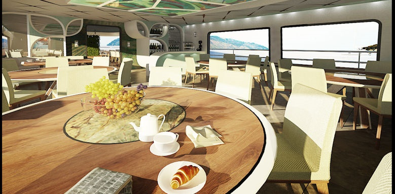MS Sea Swallow, seating area