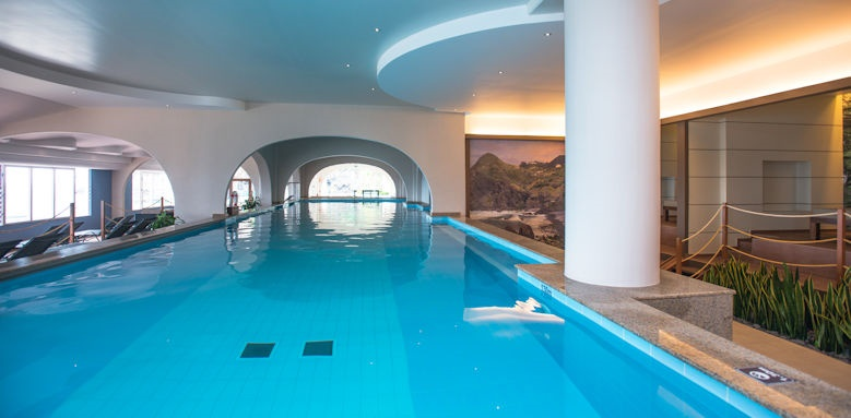 pestana carlton madeira, indoor pool