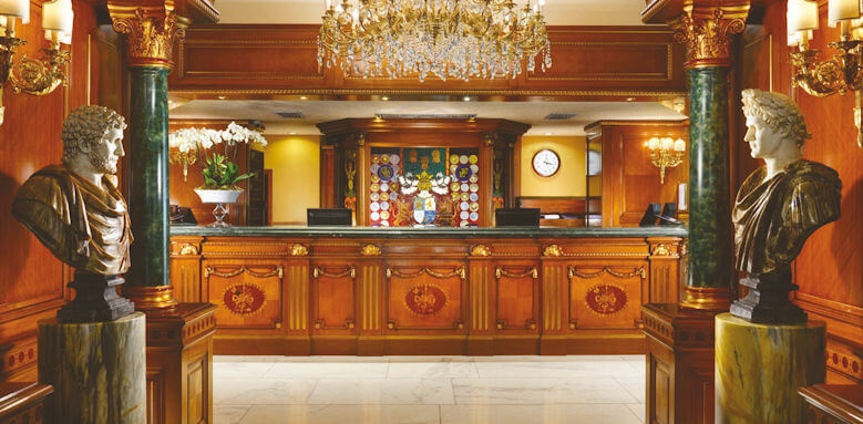 Parco Dei Principi Grand Hotel & Spa, reception