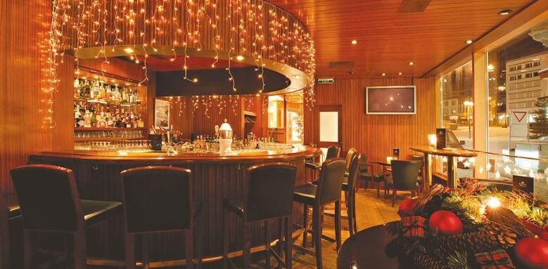 Hotel Crystal, bar area