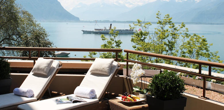 Hotel Royal Plaza Montreux, spa