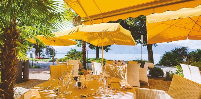Hotel Royal Plaza Montreux, dining