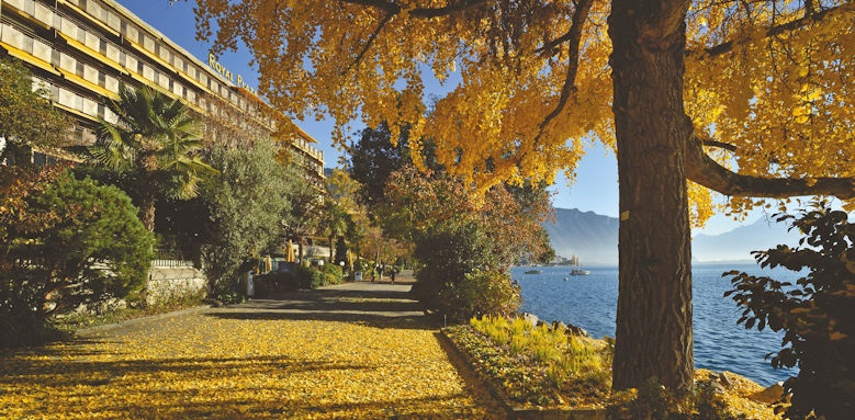 Hotel Royal Plaza Montreux, view of hotel
