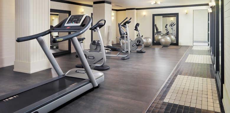 H10 Big Sur, gym