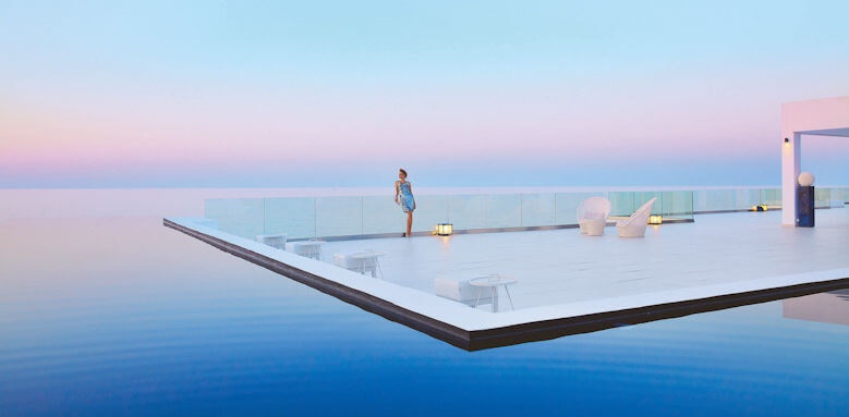 Grecotel White Palace, sunset infiniti pool