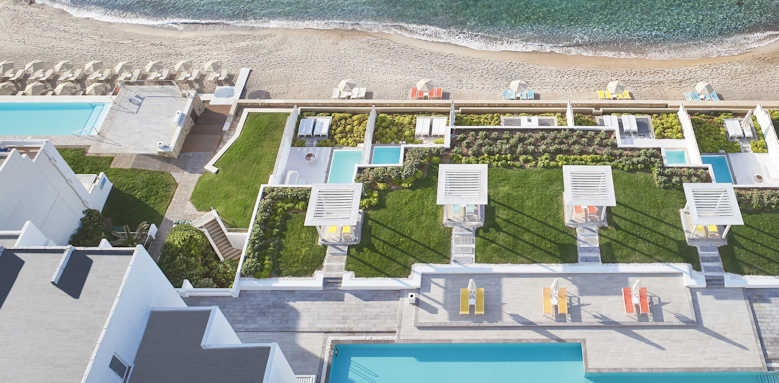 Grecotel LUX ME White Palace, aerial view