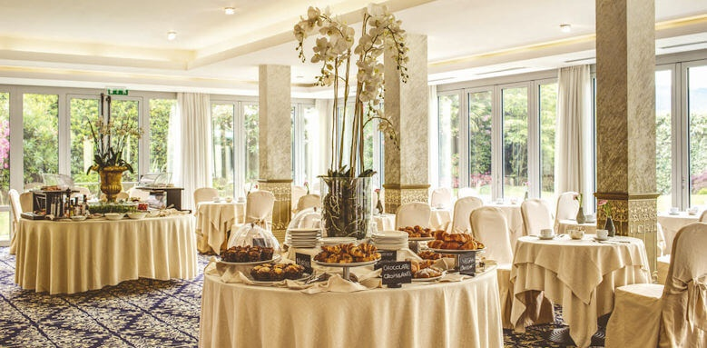 Grand Hotel Imperiale, breakfast buffet
