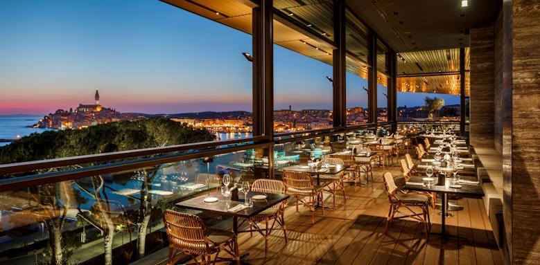 Grand Park Hotel Rovinj, cap aureo signature restaurant