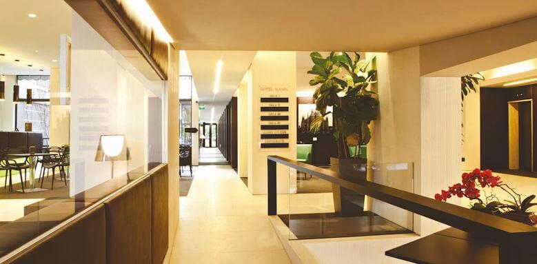 Hotel Manin, interior