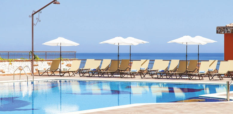 Diamond Resort Naxos Taormina, pool area