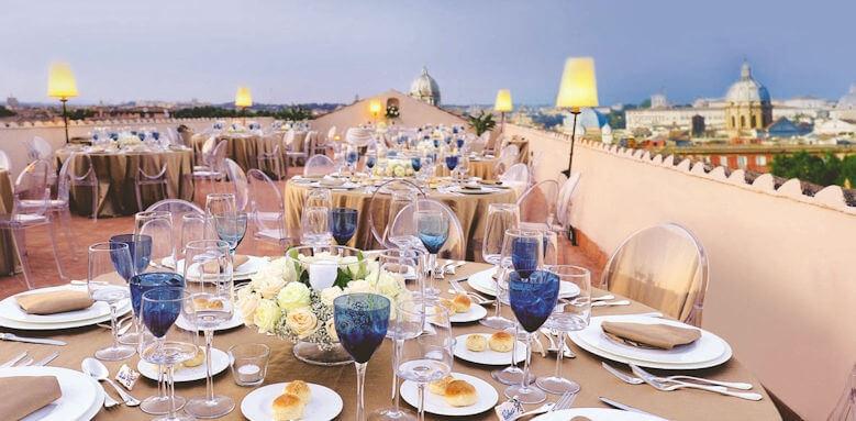 Voi Donna Camilla Savelli Hotel. restaurant terrace
