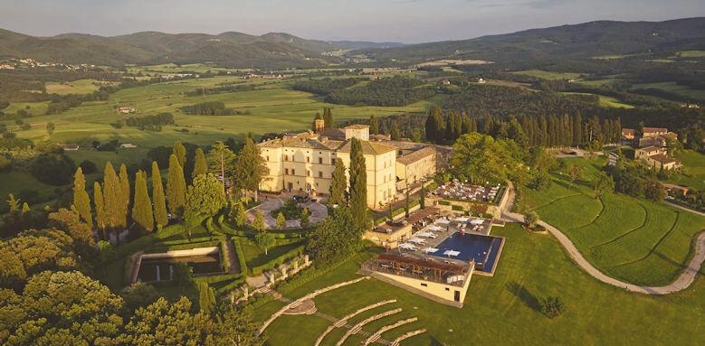Belmond Castello di Casole, layout