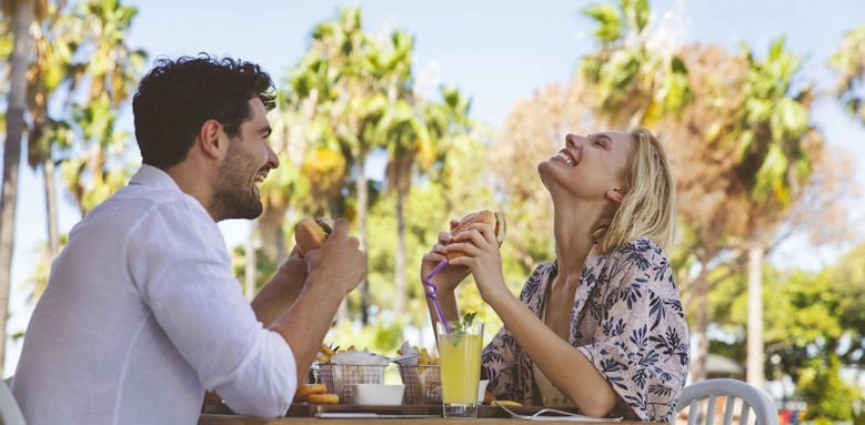 Acanthus & Cennet Barut, couple dining