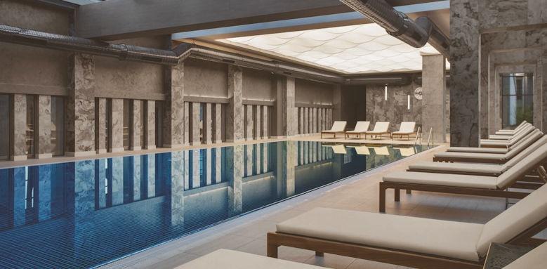 Acanthus & Cennet Barut, indoor pool