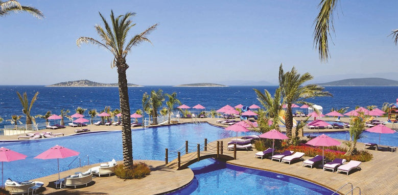 The Bodrum, pool