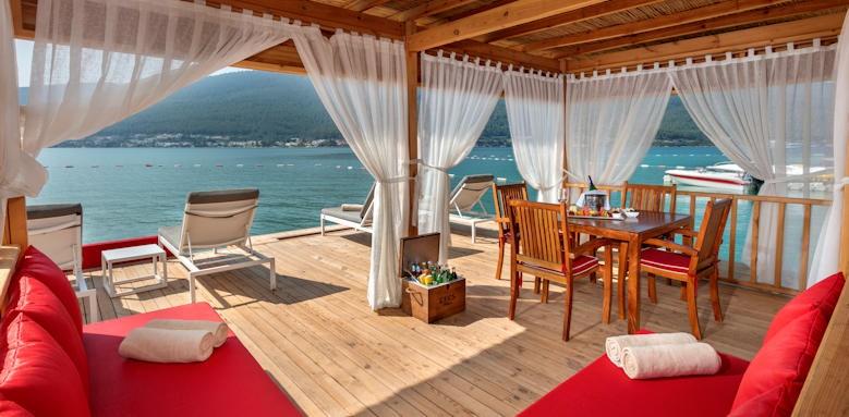 Turkey_titanic deluxe bodrum_beach cabana