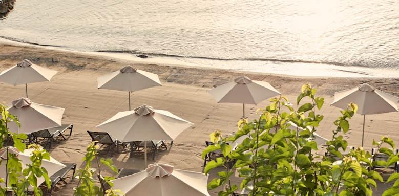 minos palace,  beach