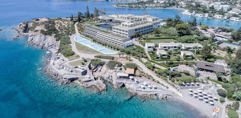 Minos Palace, panoramic views of hotel