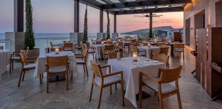 Amara, restaurant terrace
