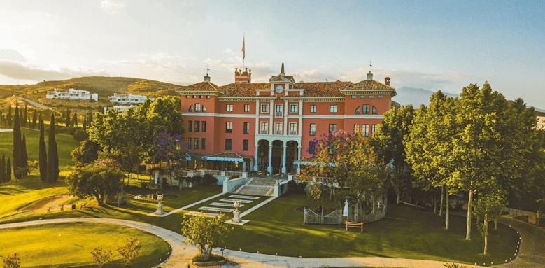 Villa Padierna Palace Hotel, view of hotel
