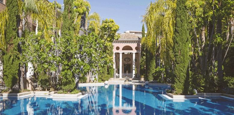Villa Padierna Palace Hotel, pool view