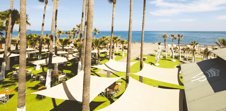 Villa Padierna Palace Hotel, beach view