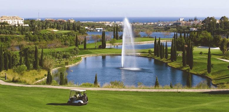 Villa Padierna Palace Hotel, Golf course