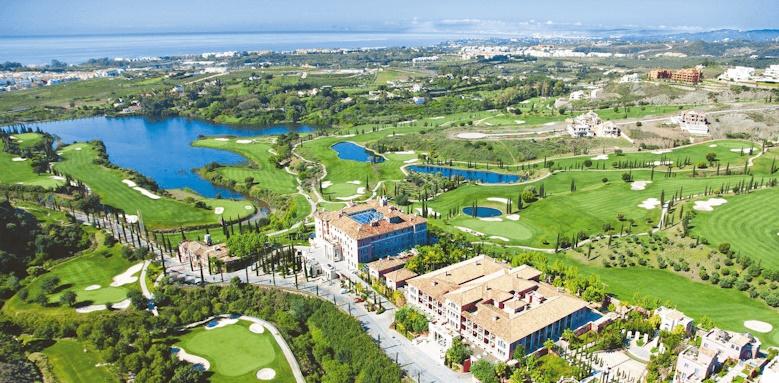 Villa Padierna Palace Hotel, aerial view of hotel