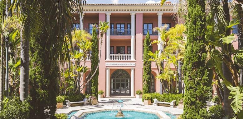 Villa Padierna Palace Hotel, spa exterior