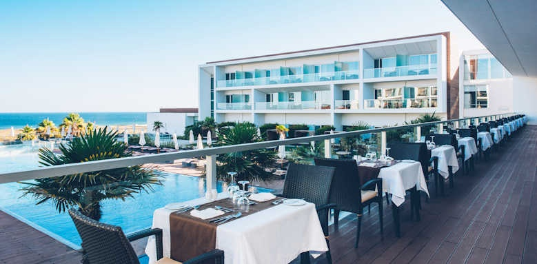 Iberostar Lagos, restaurant terrace