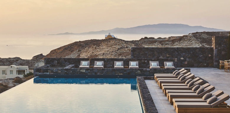 Canaves Oia Epitome, pool view 2